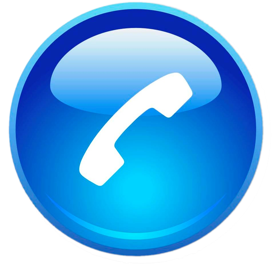 blue phone icon